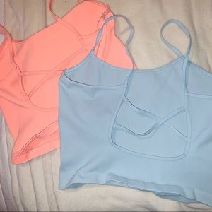 NEW!  2 Free people movement brami strappy tops